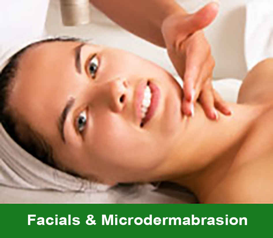 Click here to go to the Facials Microdermabrasion Service page